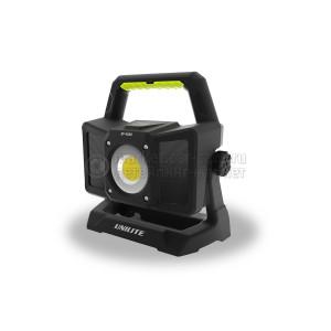 Прожектор UNILITE 4500 Lm с колонкой bluetooth, 5200 mAh, IP65