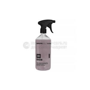 Состав для удаления металлических вкраплений и ржавчины с нейтральным pH INNOVACAR D1 Iron, 500 ml