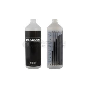 Бутылка INNOVACAR 1L с мерной шкалой, черная