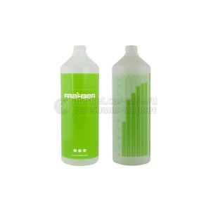Бутылка INNOVACAR 1L с мерной шкалой, зеленая