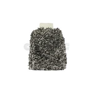 Рукавичка из микрофибры для мойки черно-белая INNOVACAR Micron wash mitt