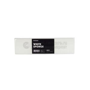 Меламиновая губка для очистки поерхностей без моющих средств INNOVACAR White sponge
