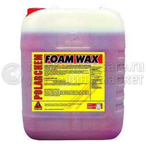 FOAM WAX POLARСHEM  — полимерный шампунь с гидрофобным эффектом (20л.)