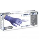 Одноразовые перчатки химостойкие сверхдлинные 29см. Reflexx R99-L. 8,8 гр. Толщина 0,15 мм.