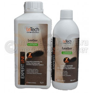 Лосьон для кожи LeTech Leather Lotion X-GUARD PROTECTED 500 мл
