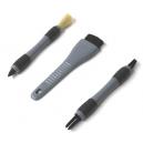"""Набор кисточек для детейлинга """"Мечта детейлера"""" (3 шт.), Chemical Guys ACC_406 - Detailing Brush Set (3 Brushes)"""