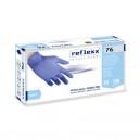 Резиновые перчатки, нитриловые, синие, Reflexx R76-M. 3,5 гр. Толщина 0,07 мм.