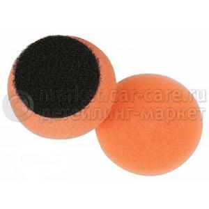 Полировальный диск LakeCountry поролон средне-режущий, оранжевый, 68мм