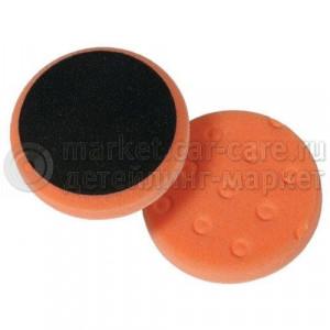 Полировальный диск LakeCountry поролон средне-режущий, оранжевый, 140мм