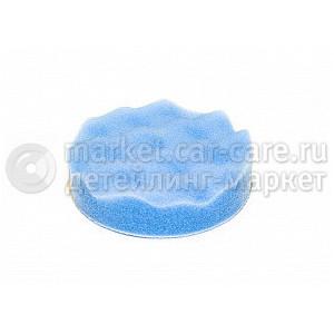 Полировальный диск LakeCountry поролон финишный для мягких лаков, голубой, 152мм