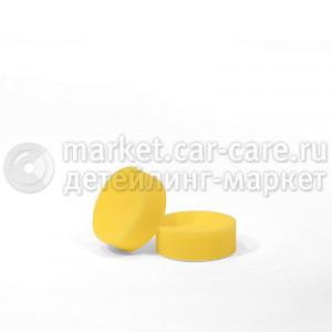 Полировальный диск LakeCountry поролон режущий агрессивный, желтый, 70мм