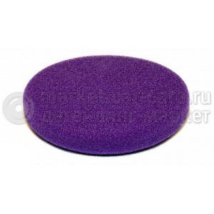 Полировальный диск LakeCountry поролон режущий агрессивный, фиолетовый, 130мм