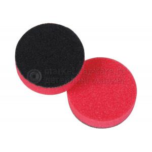 Полировальный диск LakeCountry поролон финишный, красный, 70мм