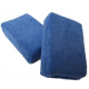 Микрофибровый аппликатор Chemical Guys LARGE PREMIUM 100% MICROFIBER APPLICATORS BLUE