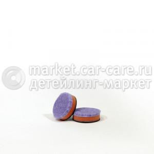 Гибридный полировальный диск LakeCountry фиолетовый, 30мм