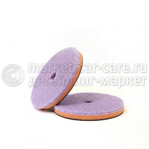 Гибридный полировальный диск LakeCountry фиолетовый, 150мм