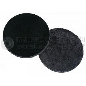 Полировальный диск LakeCountry микрофибра финишный, черный, 83мм