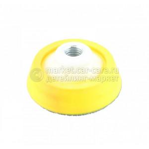 Подложка LakeCountry для ротационной машинки, желтый, 125 мм