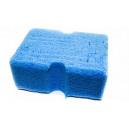 Крупно-пористая губка LakeCountry для пенных шампуней, синяя