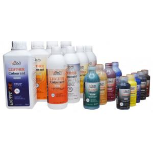 Краска для кожи leather colourant LeTech EXPERT LINE, Dark Brown 200 ml