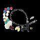 Дример AuTech для полировки труднодоступных мест - гибкий вал (комплект)