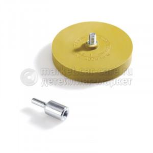 Диск полиуретановый для снятия липких лент со шпинделем Sonax