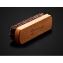 Щетка для очистки кожи Detail, 14.5x4.5 см, натур. ворс