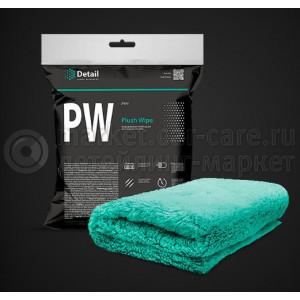 """Микрофибровая салфетка для располировки составов Detail PW """"Plush Wipe"""" 40*40"""