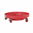 Подставка под ведро AuTech, 3 диаметра, красного цвета