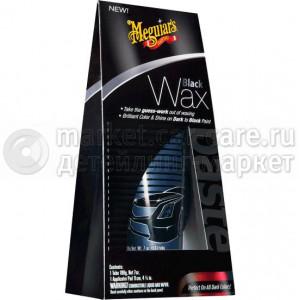 Воск для тёмных автомобилей Meguiar's Black Wax, 207 мл