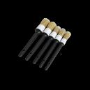 Кисточки AiuTech из натурального волоса кабана, комплект 5 шт.