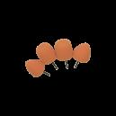 Полировальная насадка для гибкого вала (овал, конус) антиголограммная AuTech - комплект 4 шт.