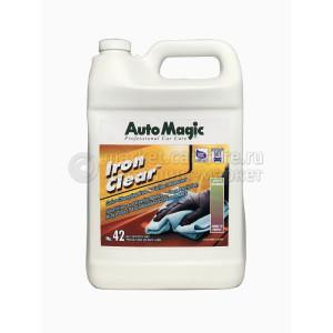 Очиститель металических вкраплений на дисках и лкп  Auto Magic IRON CLEAR, 3.78 л