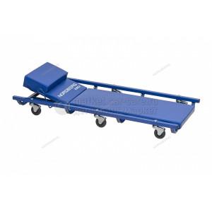 Лежак подкатной с подъемным подголовником NORDBERG