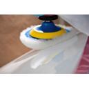 Меховой полировальник BRAYT белый 150мм