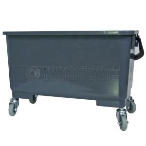 AuTech Ведро для мойки на колесиках с прямой отжимной решеткой - объем 25 л.