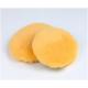 Меховой полировальник BRAYT из 100% натуральной шерсти ягненка желтый 150мм