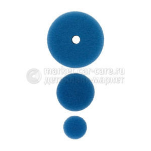 AuTech Полировальный круг комплект - твердый резак 75мм/54мм/34мм- синий