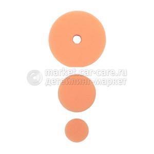 AuTech Полировальный круг комплект - полутвердый антиголограммный 75мм/54мм/34мм- оранж