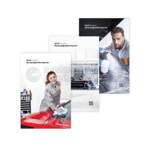 Koch Chemie Комплект цветных рекламных плакатов Koch-Chemie 150 см х 100 см (пластик, 3 шт)