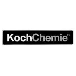 "Koch Chemie Автомобильный номер ""Koch Chemie"" на чёрном фоне"