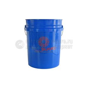 Premium Bucket - Сверхпрочное Ведро 20 л, цвет синий, GRIT GUARD