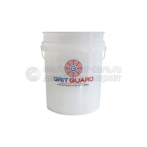 Premium Bucket - Сверхпрочное Ведро 20 л, цвет белый, GRIT GUARD