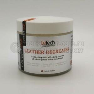 Средство для удаления жирных пятен с кожи LeTech LEATHER DEGREASER Expert Line, 380ml