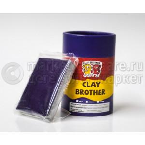 Глина полировальная абразивная BUFF BROTHERS CLAY DARK BLUE 100g