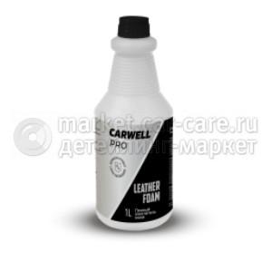 Пенный очиститель кожи Carwell Leather Foam (1 л.)