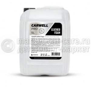 Пенный очиститель кожи Carwell Leather Foam (5 л.)