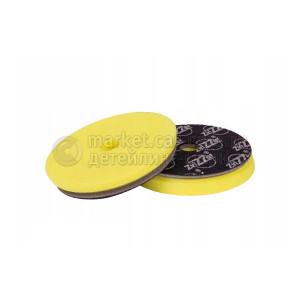140/20/125 - ZviZZer ALL-ROUNDER - ЖЕЛТЫЙ мягкий (антиголограмный) полировальный круг soft