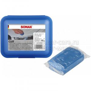 Глиняный брусок для очистки окрашенных поверхностей Sonax