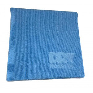 Dry Monster DM-4040LB Полотенце ультра короткая петля Velvet - голубая 40x40 см.